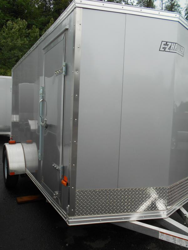2017 Mission 6x12 Ez-Hauler All Aluminum Cargo / Enclosed Trailer
