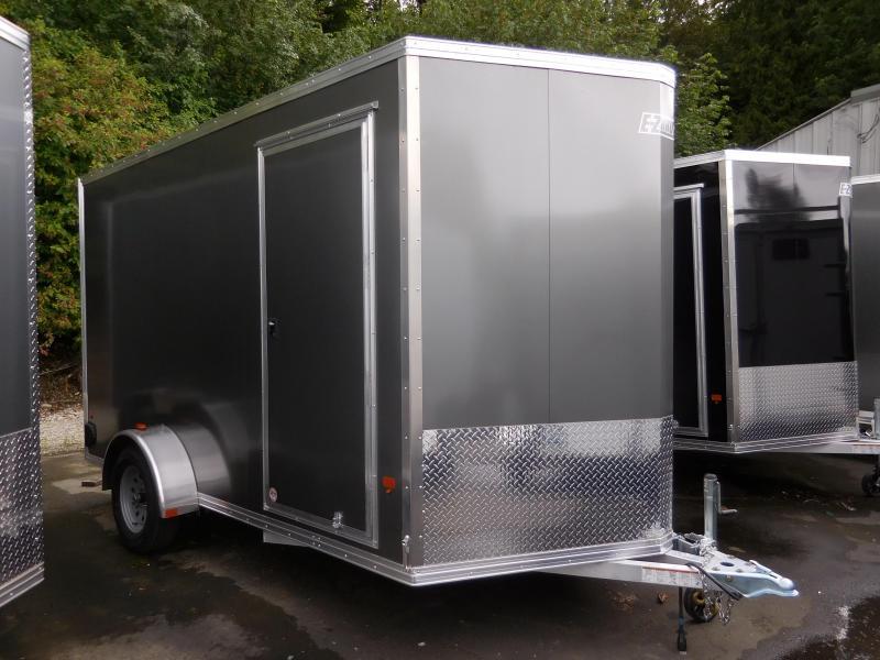 2016 Mission 7x12 Single Axle Cargo / Enclosed Trailer