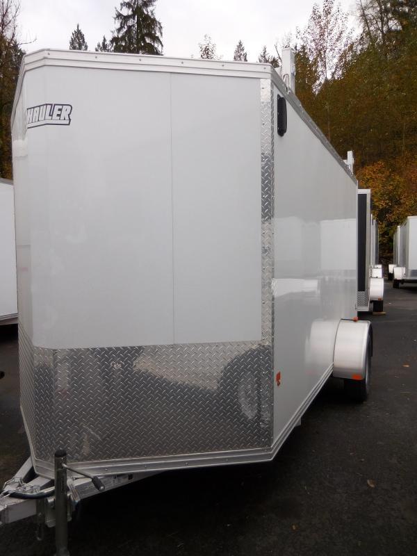 2016 Mission 6x12 Standard All Aluminum Cargo / Enclosed Trailer