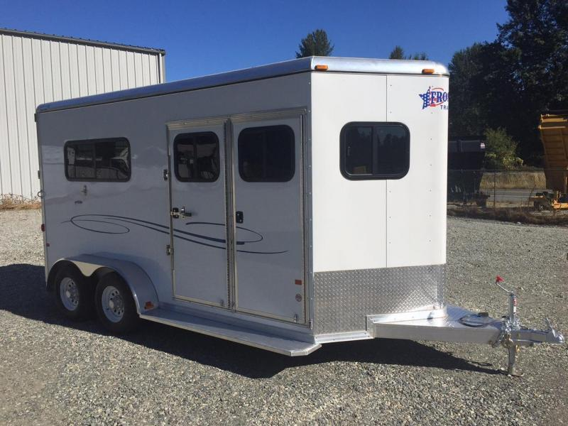 2016 Frontier 2H Ambassador Straight Load Warmblood Horse Trailer