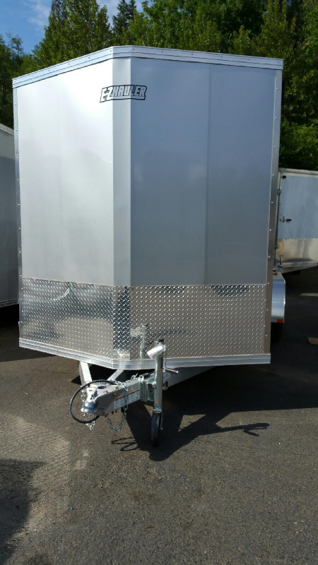 2015 Mission 7x16 Duralite All Aluminum Cargo / Enclosed Trailer