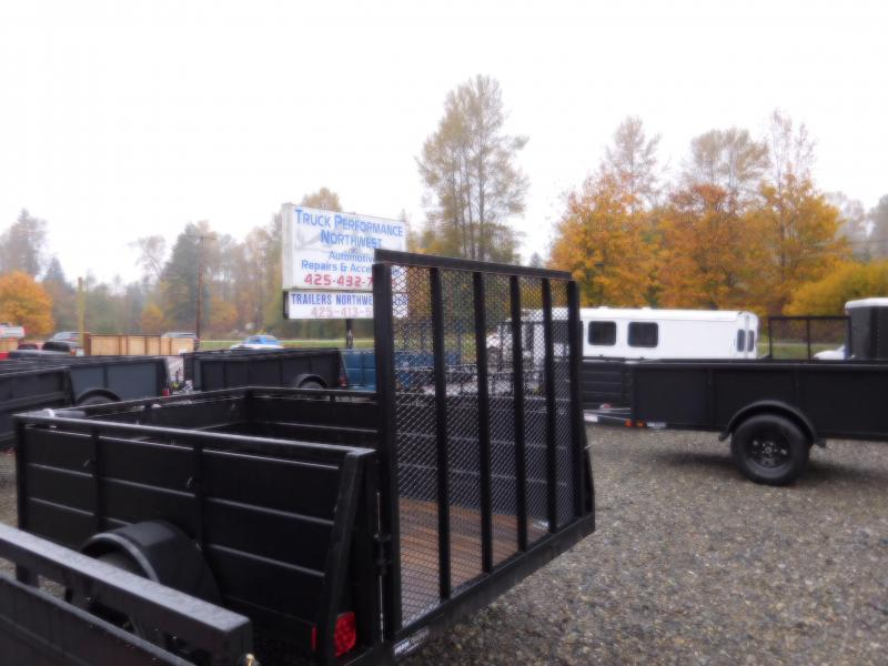 2017 Mirage 5x10 Landscape Ramp Gate Utility Trailer