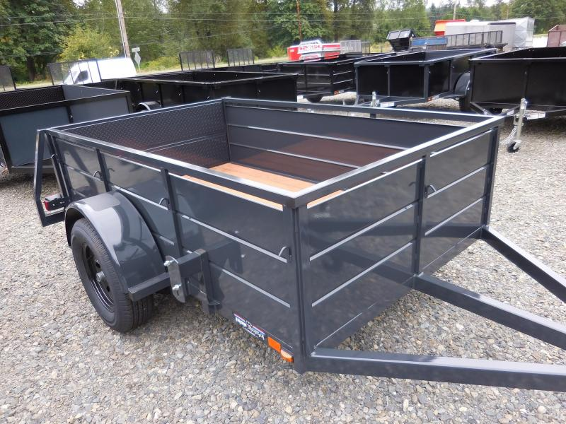 2016 Iron Eagle Magnum 5x8 Utility Trailer with split gate!