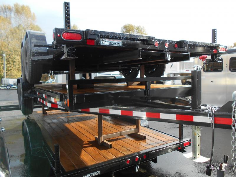 2014 Iron Eagle 14K 7x20 Flatbed Trailer
