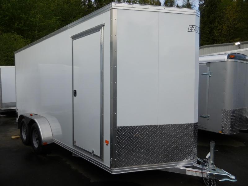 2016 EZ Hauler 7x16 Custom Enclosed Cargo Trailer