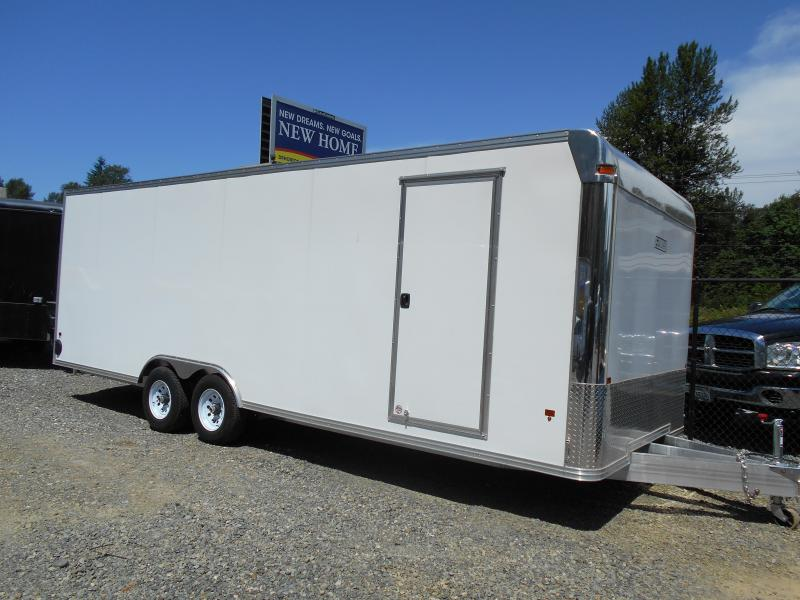 2014 Mission 8x24 Cargo / Enclosed Trailer