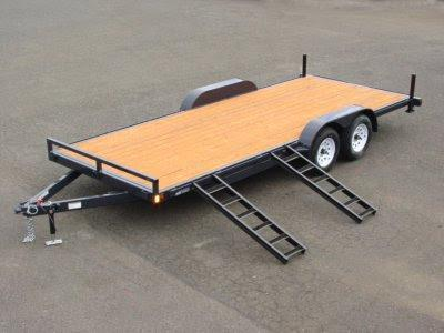 2017 Iron Eagle 7x14 7000# series Flat Bed Trailer