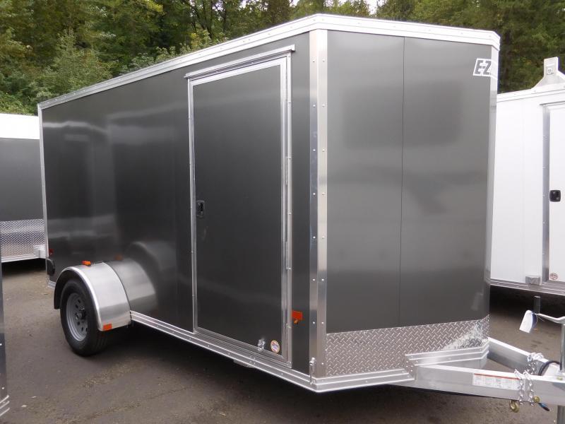 2017 Mission 6x12 Duralite All Aluminum Cargo / Enclosed Trailer