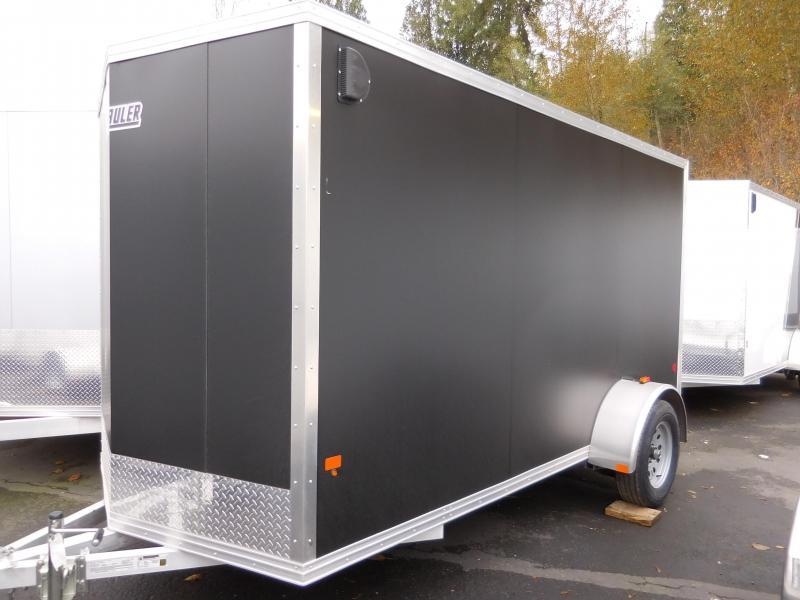 2016 Mission 6x12 Duralite All Aluminum Cargo / Enclosed Trailer