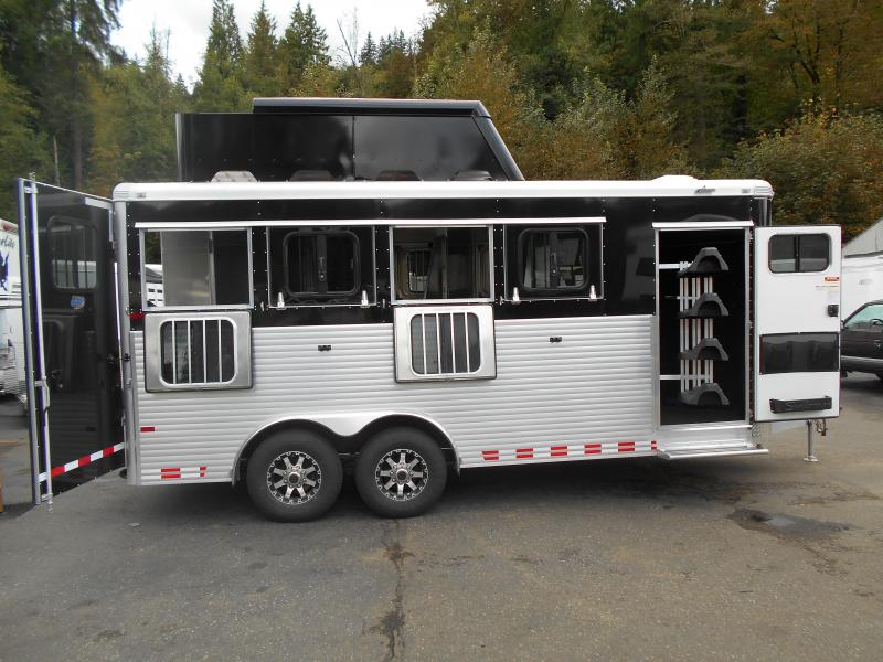 2015 Sundowner Stockman Sport 4 Horse Trailer