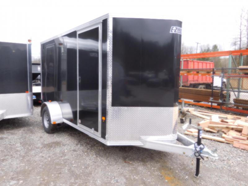 2018 EZ Hauler 6x12 All Aluminum Enclosed Cargo Trailer