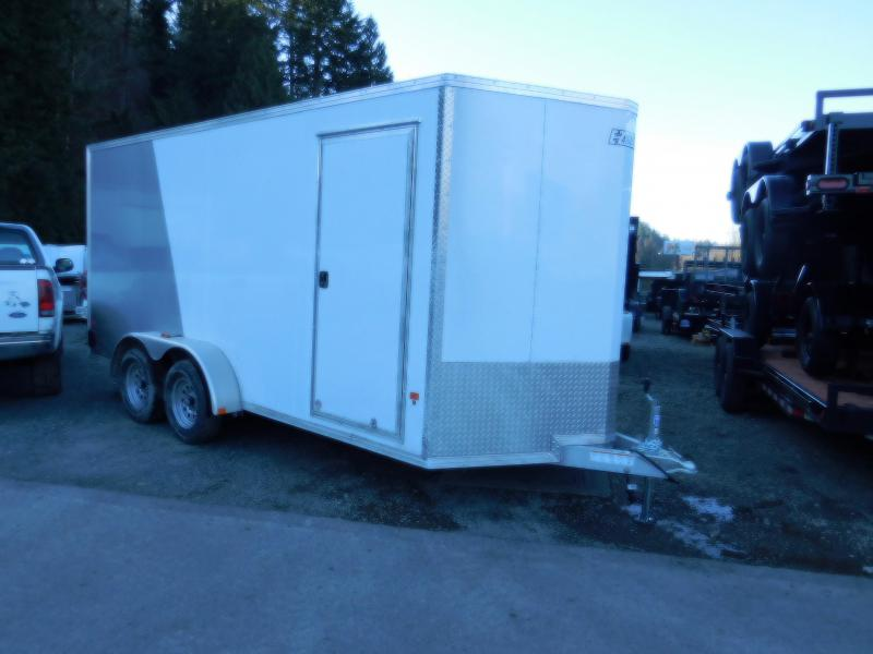 2018 EZ Hauler 7x16 All-Aluminum Enclosed Cargo Trailer