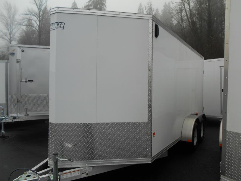 2015 7x14 Mission Standard Cargo / Enclosed Trailer