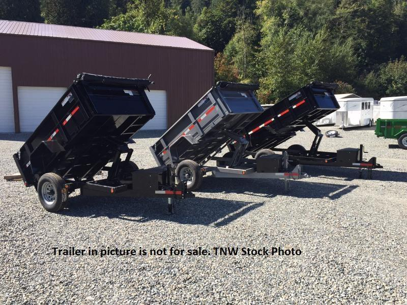 2019 ABU 5x8 Single Axle 5K Dump Trailer