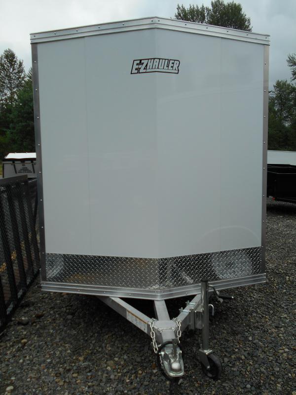 2014 Mission 6x10 Duralite All Aluminum Enclosed Cargo Trailer