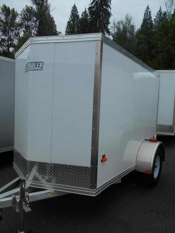 2014 Mission 5x8 Duralite ALL ALUMINUM Cargo