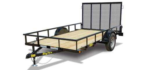 2019 Big Tex 30ES 5x10 Economy Utility Trailer with Ramp Gate