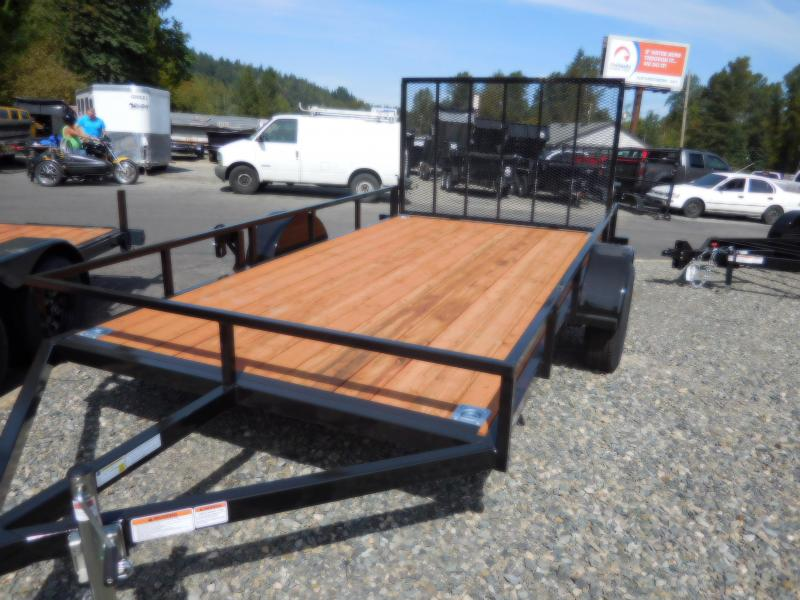 2019 Iron Eagle 6.5x12 Economax Flatbed Trailer