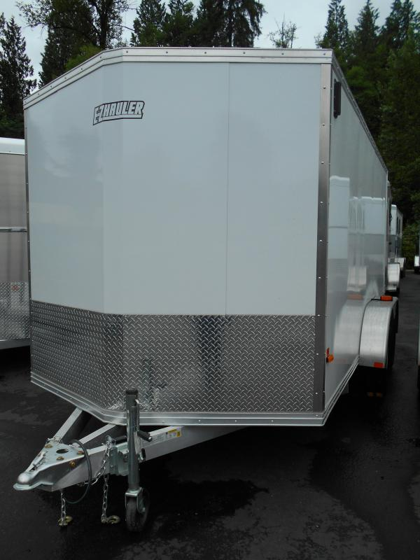 2014 Mission 7x14 Duralite All Aluminum Cargo / Enclosed Trailer