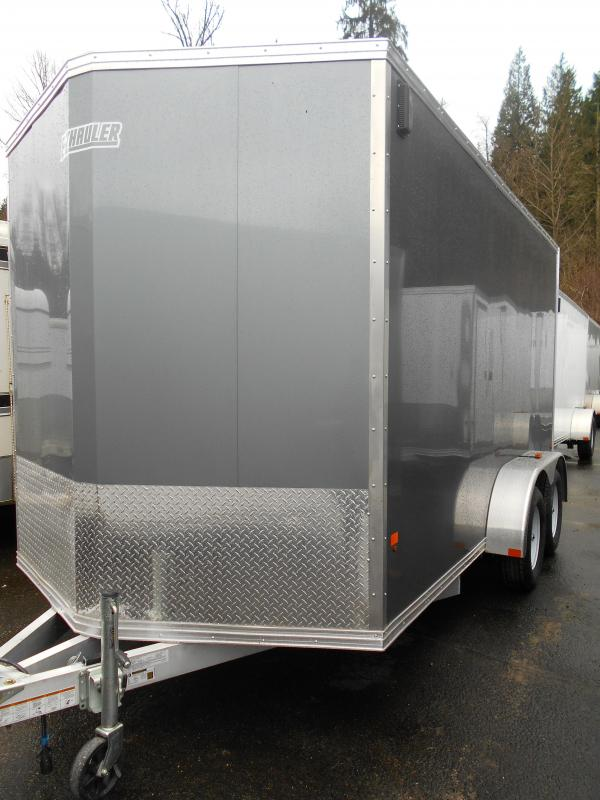 2015 Mission 7x14 Cargo / Enclosed Trailer