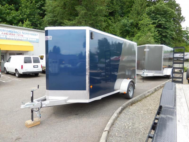 2017 Ez-Hauler 6x12 Standard All Aluminum Cargo / Enclosed Trailer