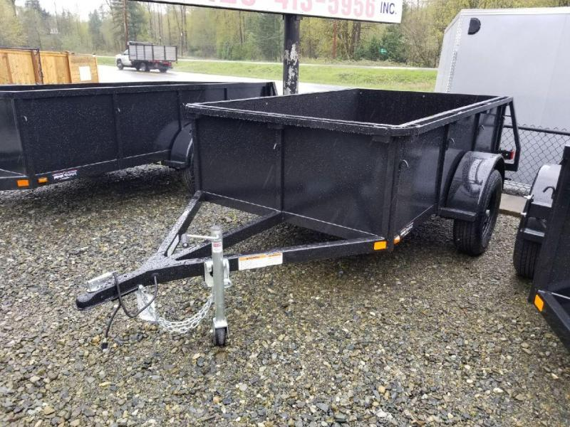 2018 Iron Eagle Voyager Series 5x8 Utility Trailer - Swing Gate & Stake Pockets