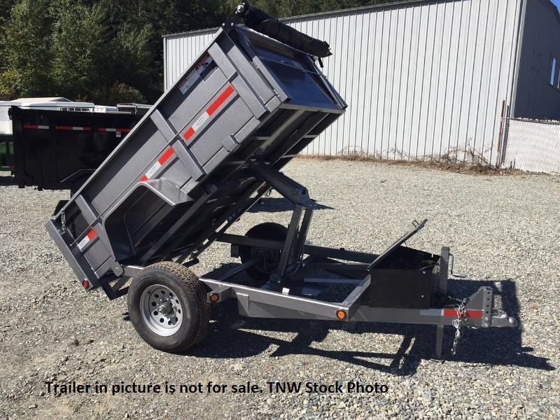 2018 ABU 5x8 Single Axle Dump Trailer