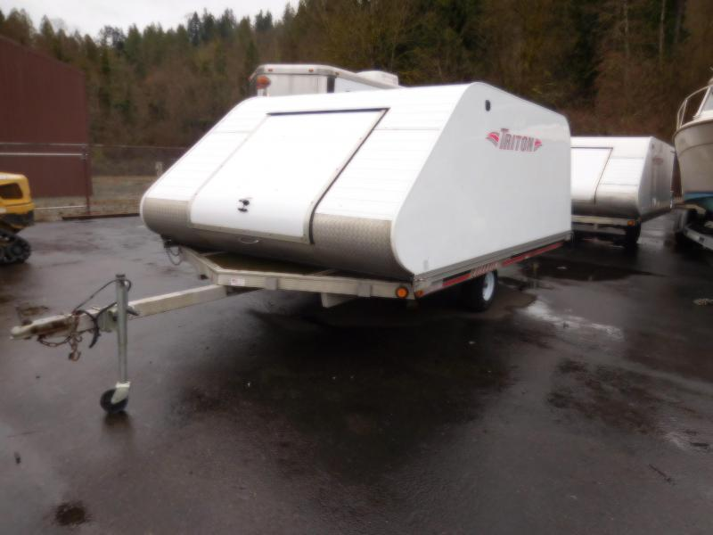 Used 2007 Triton Elite12V Snowmobile Trailer
