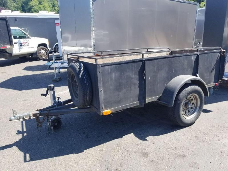 Used 1978 Homemade 4x8 Landscape Utility Trailer