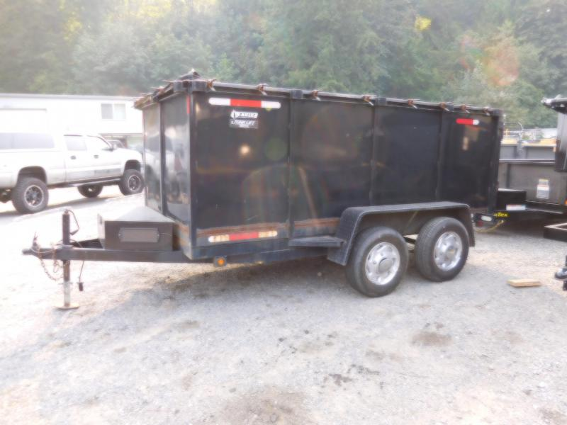 Used 2006 Eagle 6x12 7k Dump Trailer with 4ft Sides