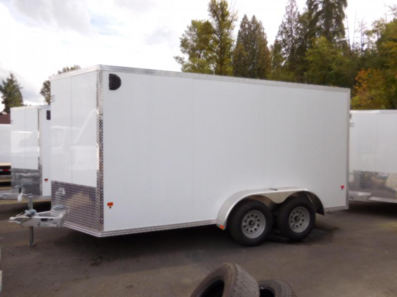 2019 EZ Hauler 7x14 All-Aluminum w/Barn Doors Enclosed Cargo Trailer