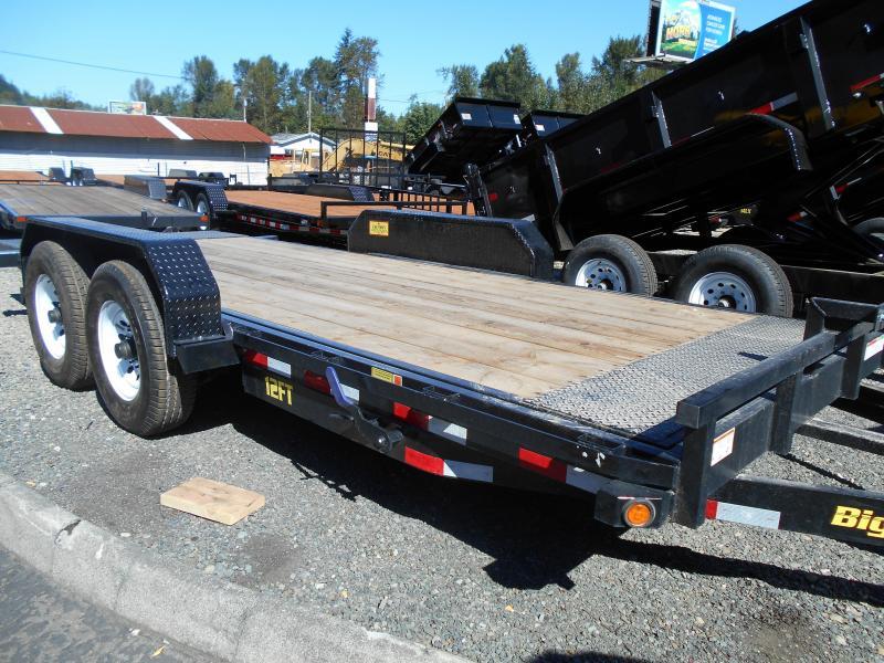 2014 Big Tex Trailers 12FT Tilt Deck Flatbed Trailer