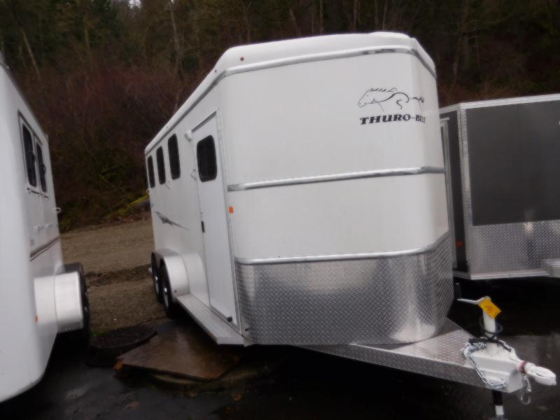 2018 Thuro-Bilt 3 Horse Liberty w/ Double Rear Doors Horse Trailer