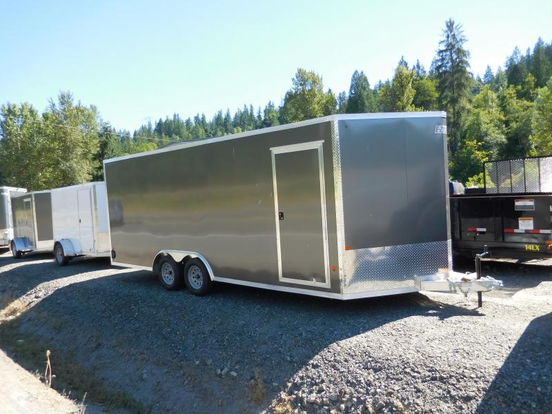 2017 Ez Hauler 8x20 Enclosed Car Hauler Trailer