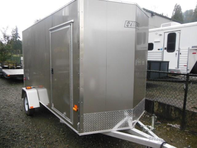 2014 Mission EZ-hauler 5x12 All Aluminum Cargo / Enclosed Trailer