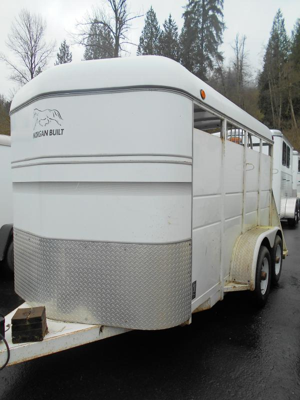 2001 Morgan Built 2 Horse Horse Trailer