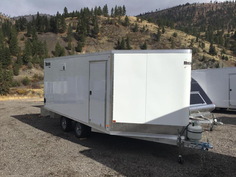 2018 Mission MES 101x16 All-Aluminum Snowmobile Trailer
