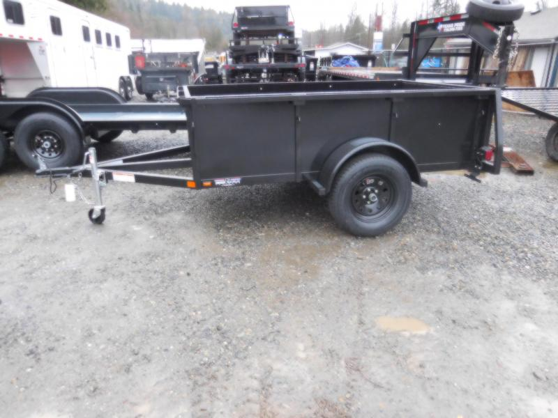 2018 Iron Eagle Voyager 5x8 Utility Trailer with Rear Split Gate