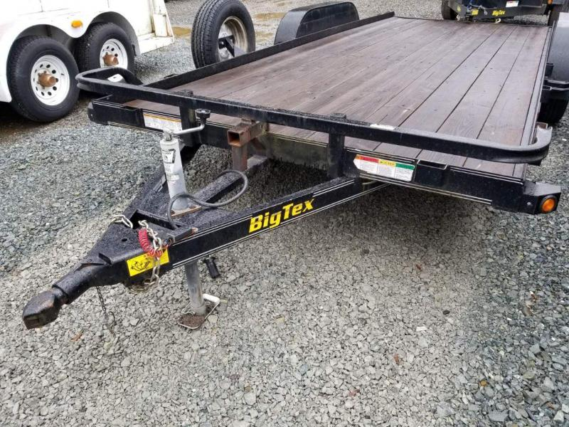 Pre-Owned 2011 Big Tex Trailers 70CH-18 Flatbed Car Hauler Trailer