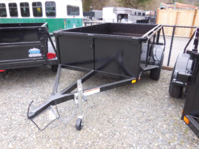 2018 Iron Eagle 5x8 Voyager w/ Stake Pockets & Split Gate Combo