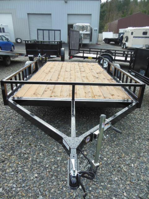 2014 Iron Eagle Economax 6.5x12 Open Flat Bed Utility Trailer