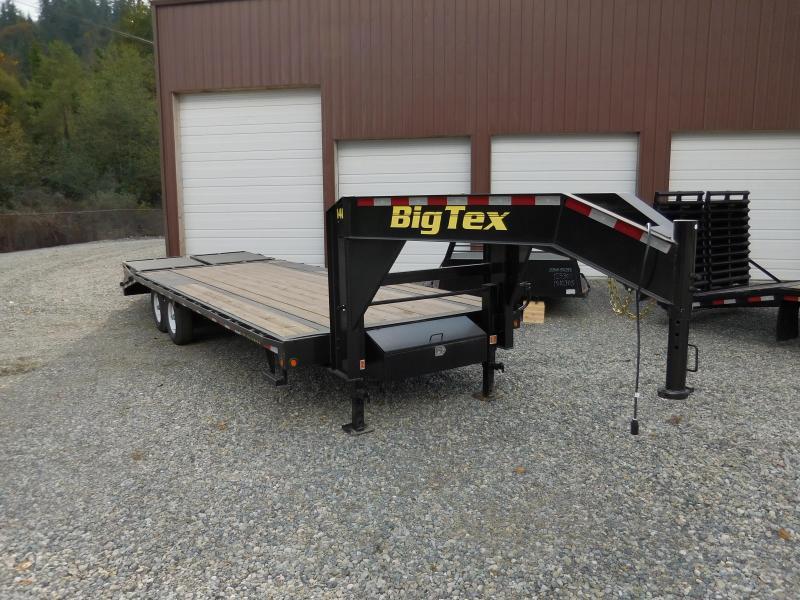 2016 Big Tex Trailers 14GN Equipment Trailers