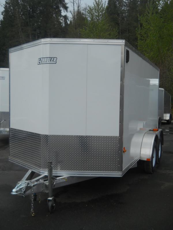 2014 Mission 7x12 Duralite All Aluminum Cargo / Enclosed Trailer