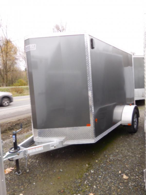 2017 Mission 6x10 EZ-Hauler All Aluminum Enclosed Cargo Trailer