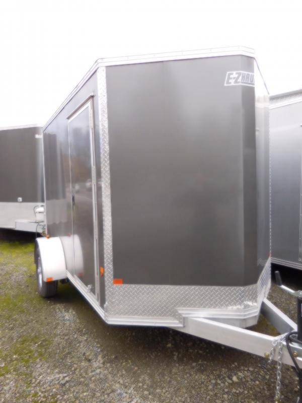 2017  6x10 EZ Hauler All Aluminum Enclosed Cargo Trailer