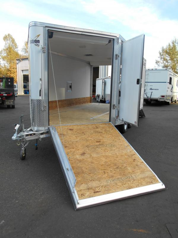 2015 Mission MES 101x14' Snowmobile Trailer
