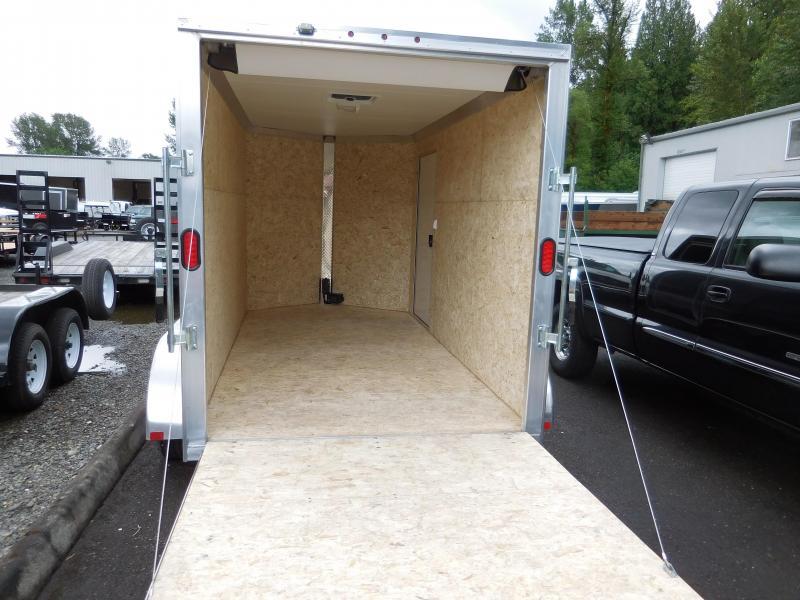 2017 EZ-Hauler 6x12 Enclosed Cargo Trailer