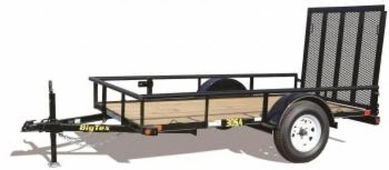"2016 Big Tex Trailers 8'x60"" Single Axle Utility Trailer"