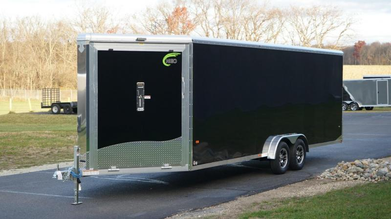 2018 NEO Trailers NASR Round Top All Sport Trailer