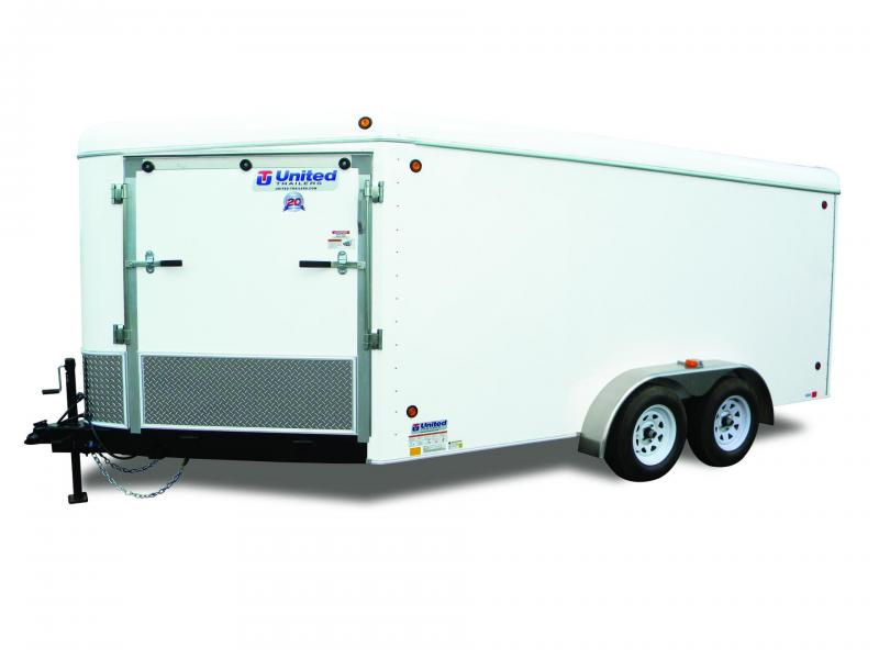 2015 United Trailers ULATV Series 7'x25' Snowmobile Trailer